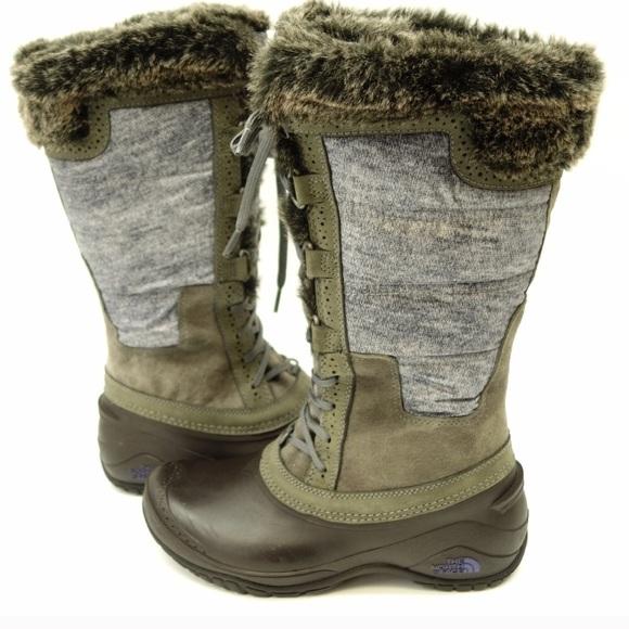 824abb424 North Face Women's Shellista II Tall Boot 6.5
